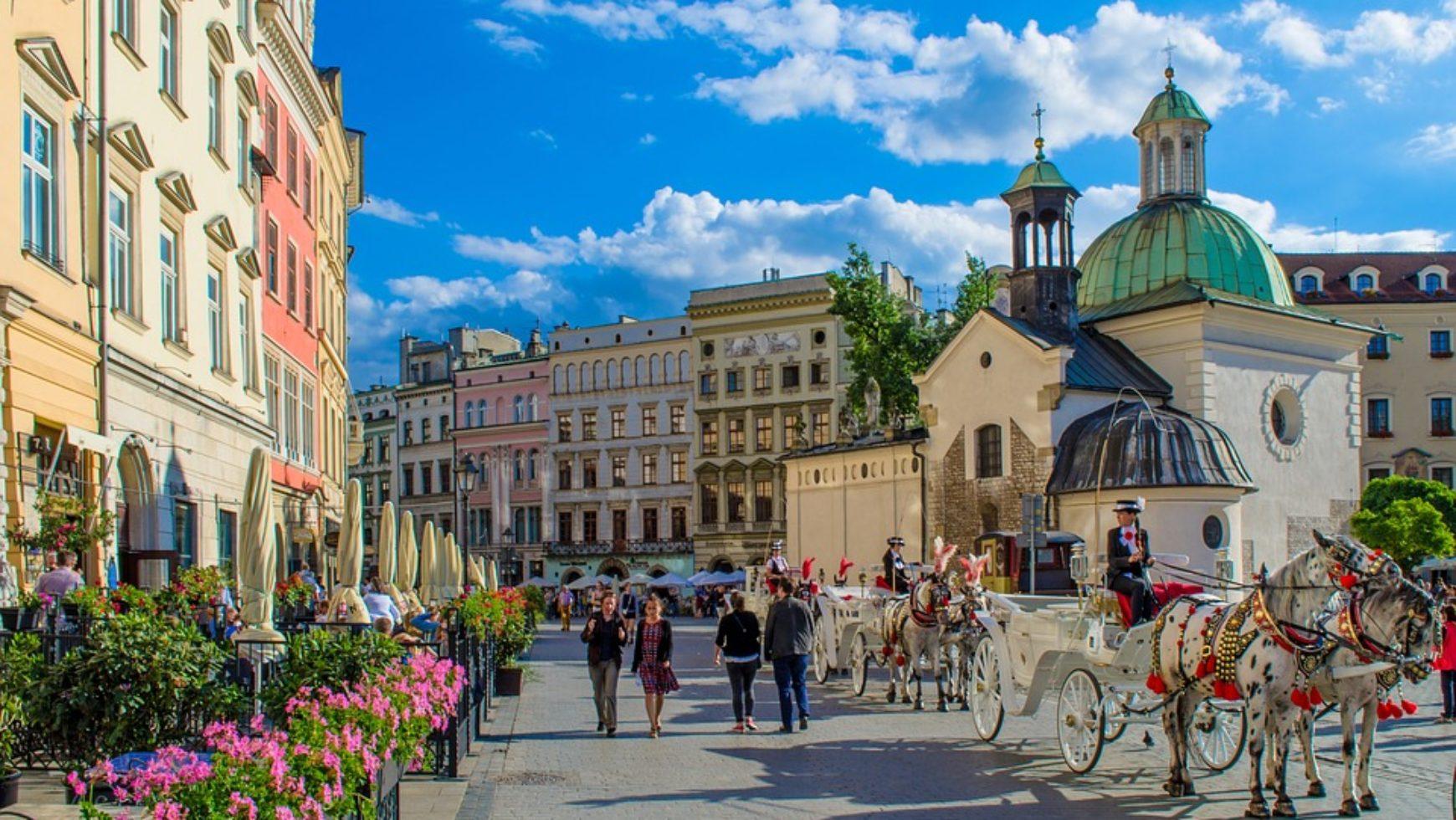 Ciekawe punkty na mapie Krakowa do organizacji gry miejskiej